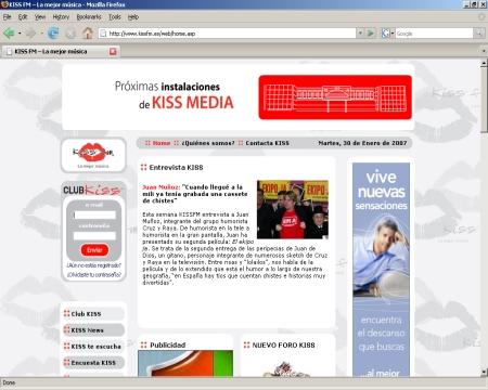 Kiss FM - Emisora de Radio de Córdoba