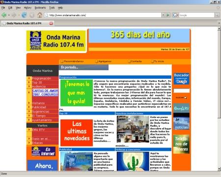 Emisoras de Radio de Córdoba - Onda Marina Radio