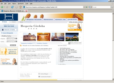 Hesperia Córdoba - Hotel en Córdoba